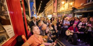 Dublino e i cantanti di strada