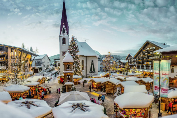 Immagini Mercatini Di Natale Innsbruck.Innsbruck Austria I Mercatini Di Natale Dal 15 Novembre