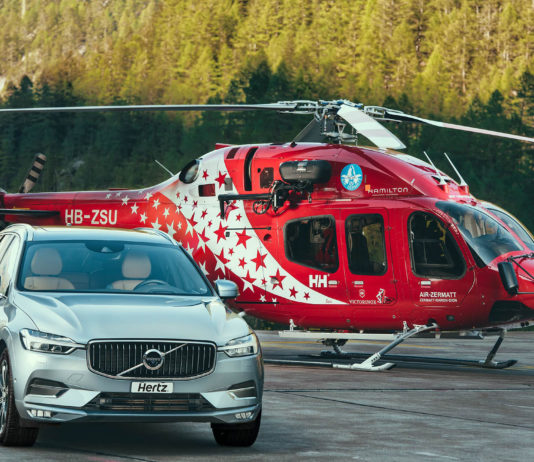Hertz - Air Zermatt - Volvo
