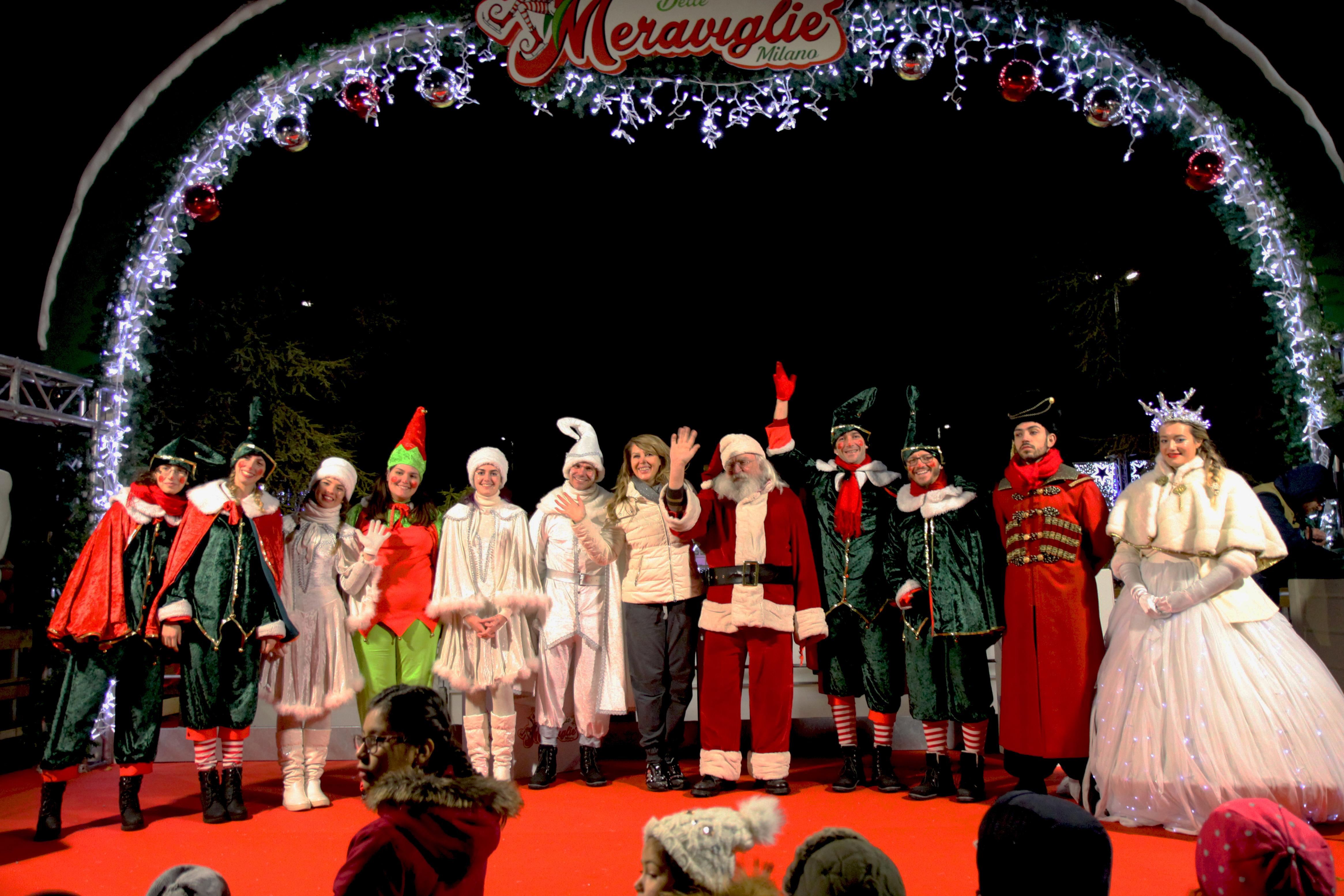Casa Babbo Natale 2019.Milano Il Natale Al Villaggio Delle Meraviglie Dal 1 Dicembre Al