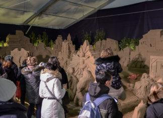 Presepi di sabbia a Bologna