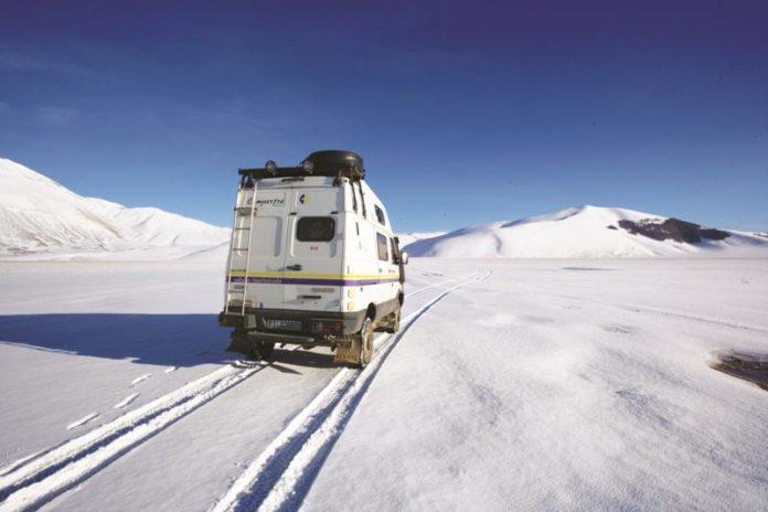camper inverno