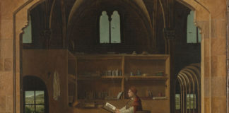 Antonello da Messina San Girolamo nello studio The National Gallery Londra