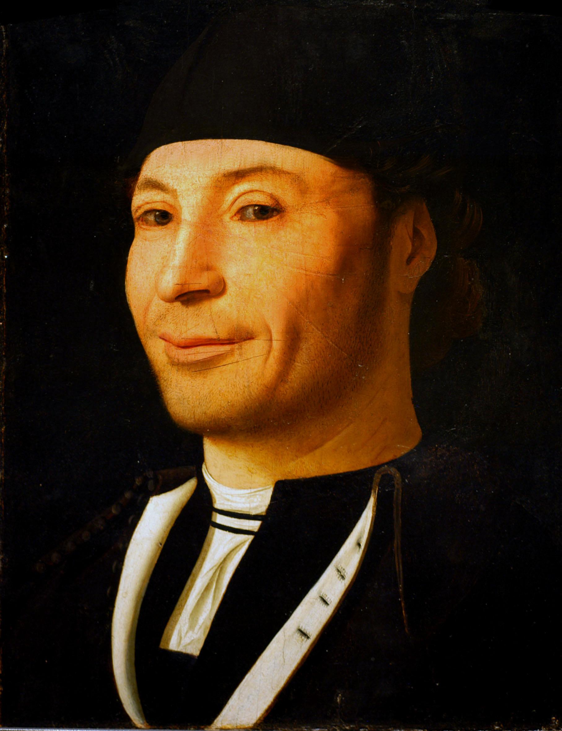Antonello da Messina Ritratto d'uomo Museo Fondazione Culturale Mandralisca Cefalù