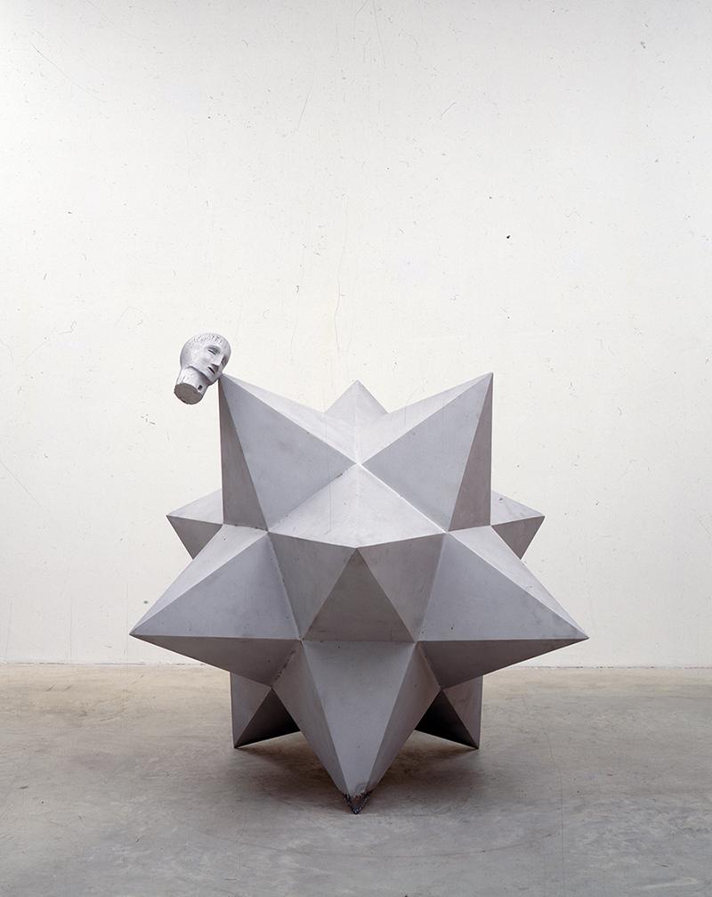 SENZA TITOLO, alluminio, 160 (h) x 155 x 175 cm, 2001