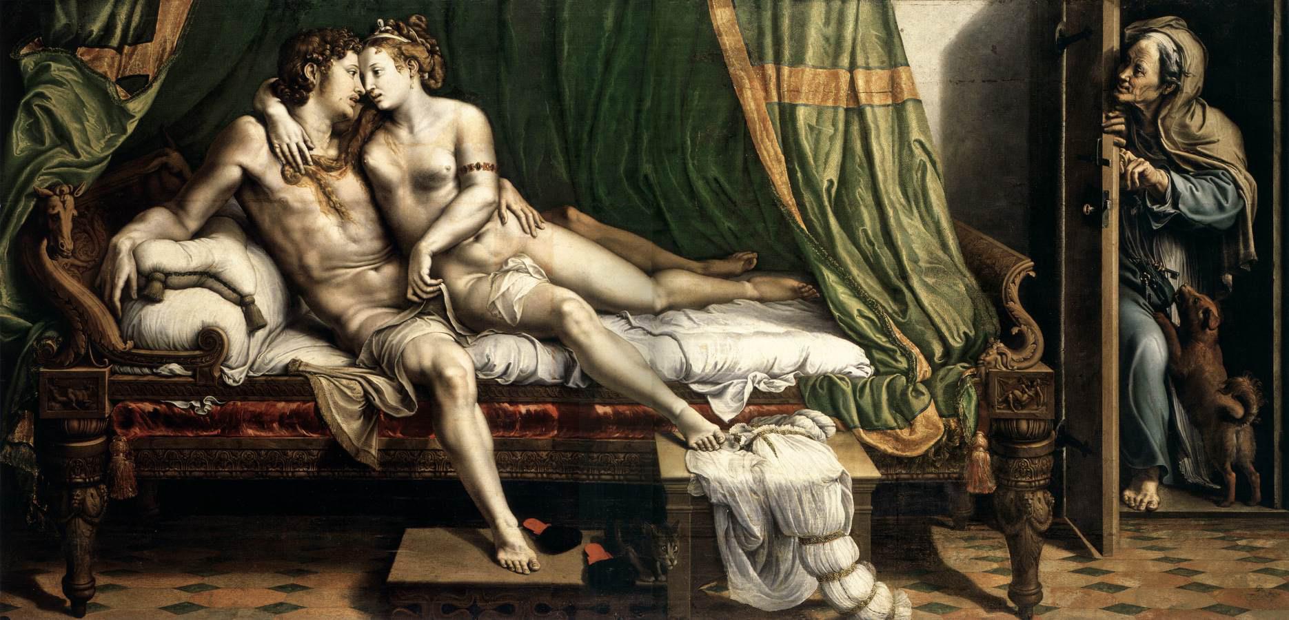 Giulio Romano_due amanti