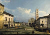 Bernardo Bellotto, Piazza San Martino con la cattedrale, Lucca, 1740, York, City Art Gallery