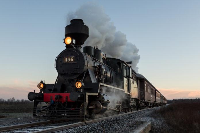 treno storio della Grande Guerra