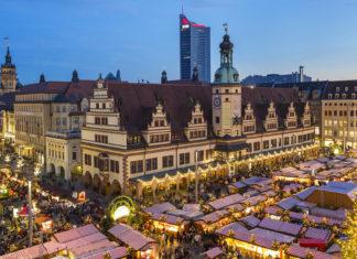 Leipzig: Weihnachtsmarkt
