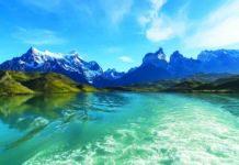 Cile Patagonia Lago Pehoe