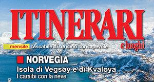 Cover Itinerari e luoghi 275 novembre 2019 norvegia