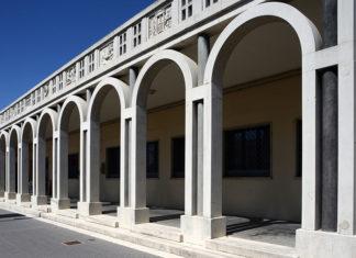 Emilia Romagna Tresigallo porticato chiesa sant Apollinare