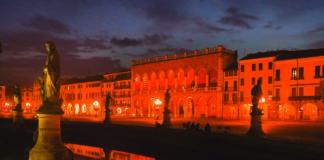 Prato della Valle square, Padova (Padua), Veneto, Italy, Europe