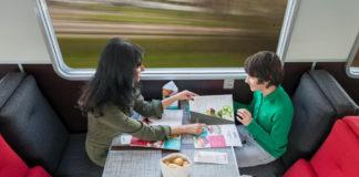 Cena sul treno Thello Venezia Parigi