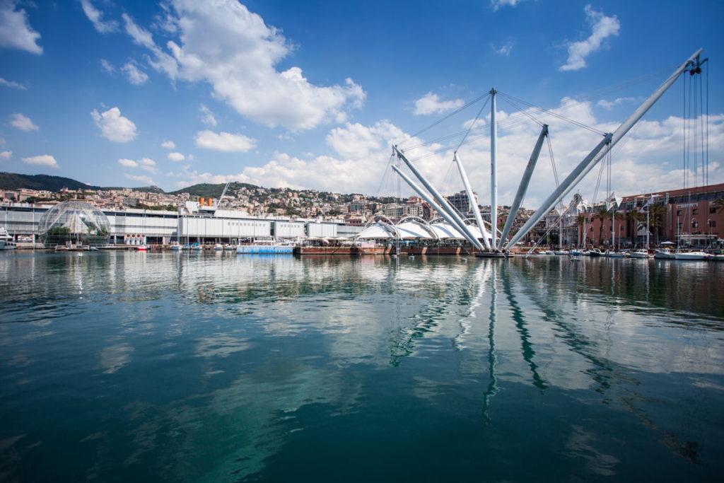 Genova Porto Antico e Acquario. Foto ©A.Falcone/Xedum