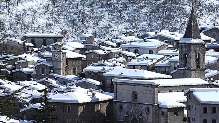 Scanno - Panorama invernale