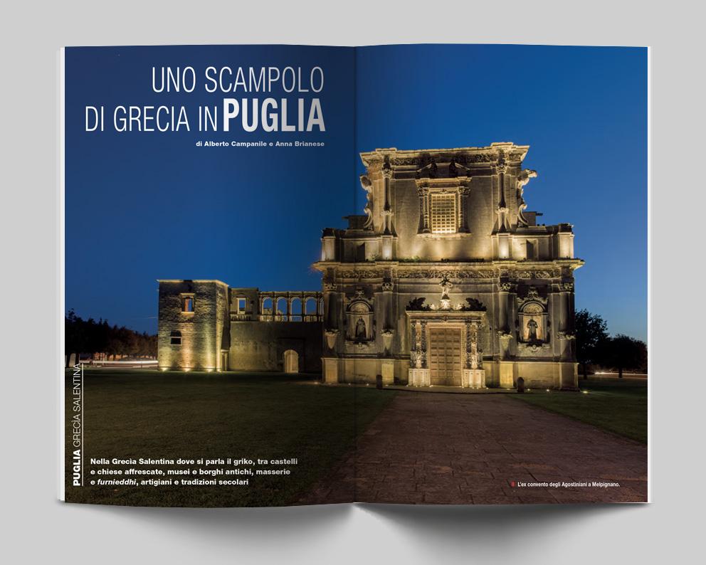 PUGLIA, Grecia Salentina - Uno scampolo di Grecia in Puglia. Di Alberto Campanile e Anna Brianese - Itinerari e Luoghi 280 maggio 2020