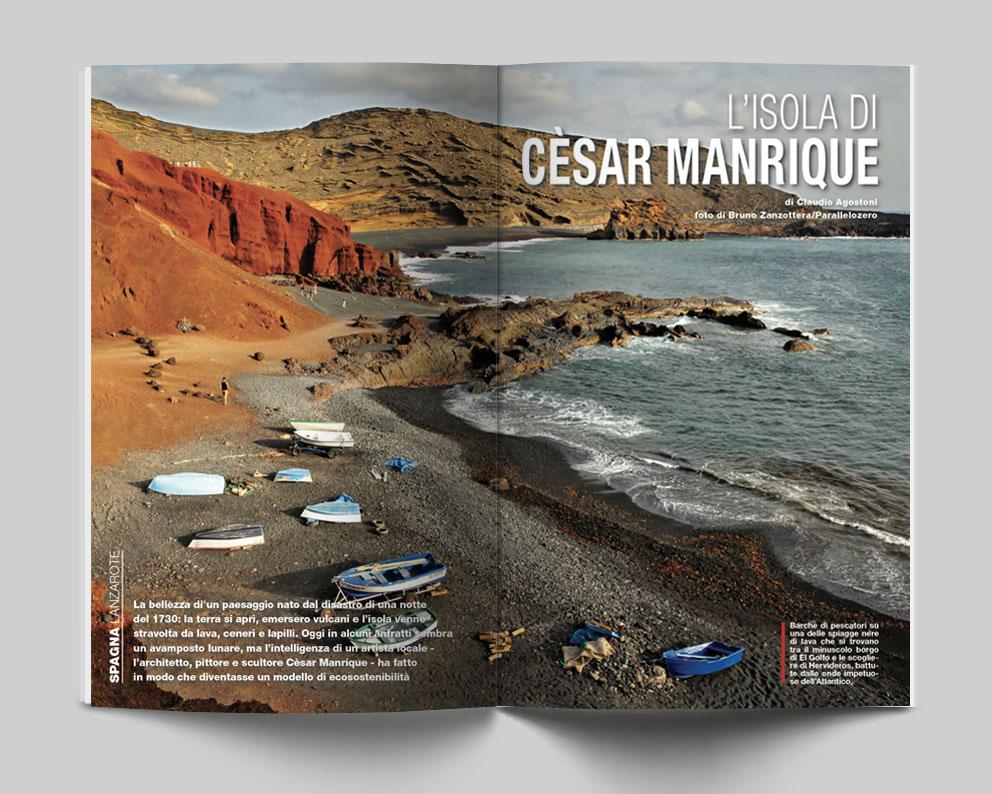 Spagna, Lanzarote - L'isola di Cèsar Manrique. Di Claudia Agostoni, foto di Bruno Zanzottera_Parallelozero - Itinerari e Luoghi 280 maggio 2020