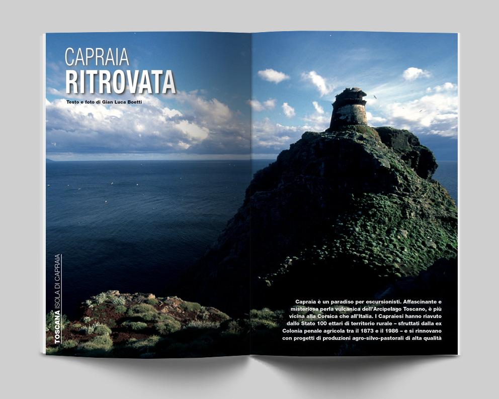Toscana, Isola di Capraia - Capraia ritrovata. Testo e foto di Gian Luca Boetti - Itinerari e Luoghi 280 maggio 2020