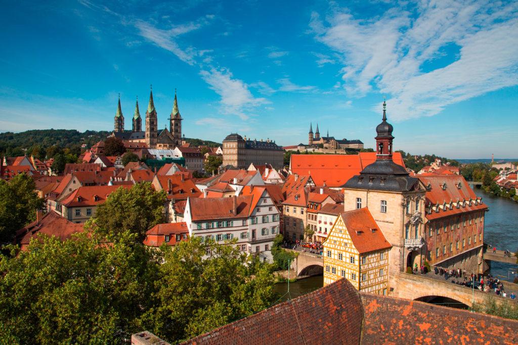 Feanconia, siti Unesco: Bamberga
