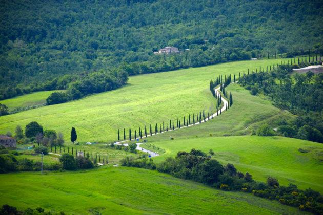 Cicloturismo in Toscana - Casole