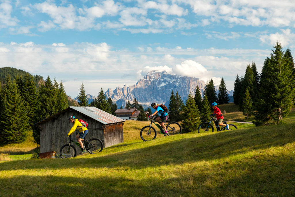 Family E-Bike Arabba Dolomiti