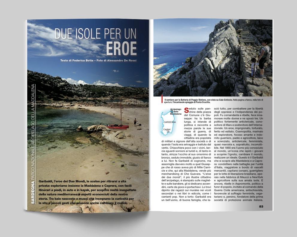 Sardegna, Parco Nazionale Arcipelago della Maddalena - Due isole per un Eroe. Testo di Federica Botta e foto di Alessandro De Rossi - Itinerari e Luoghi 281 giugno 2020