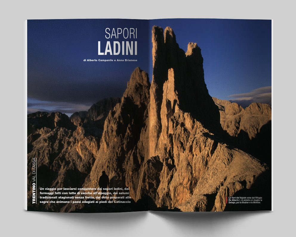 Trentino, Val di Fassa - Sapori Ladini. Di Alberto Campanile e Anna Brianese - Itinerari e Luoghi 281 giugno 2020