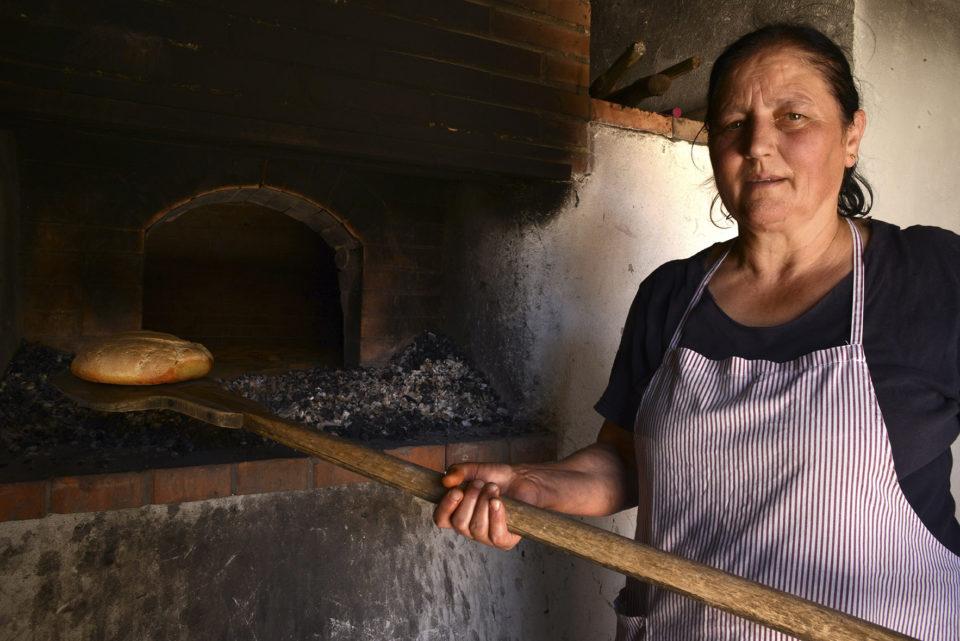 Il pane dei forni sociali di Canolo.