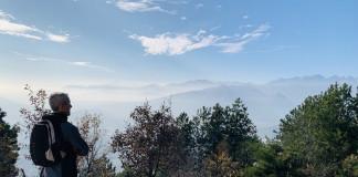 Caselette, vista dal Monte Musinè